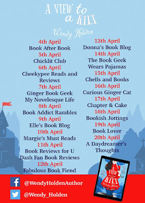 Blog Tour for A View to a Kilt by Wendy Holden