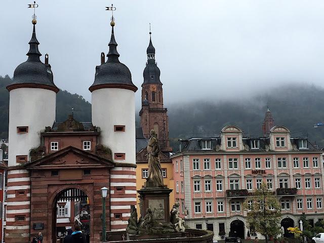 Hotel Holländer Hof Heidelberg mit Altstadtpanorama