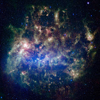 Large Magellanic Cloud Galaxy in the Infrared