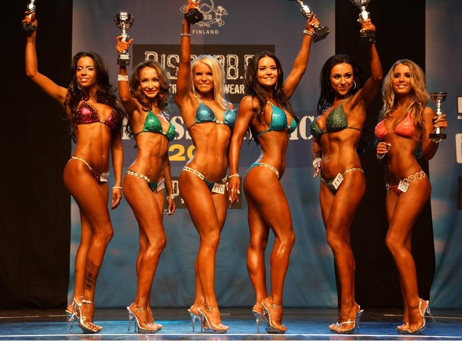 Las competiciones bikini fitness