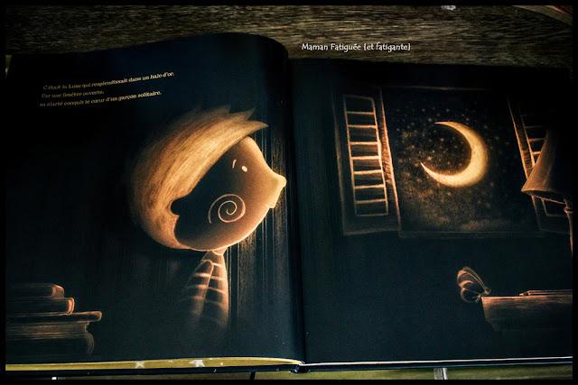 garcon qui aimait la lune