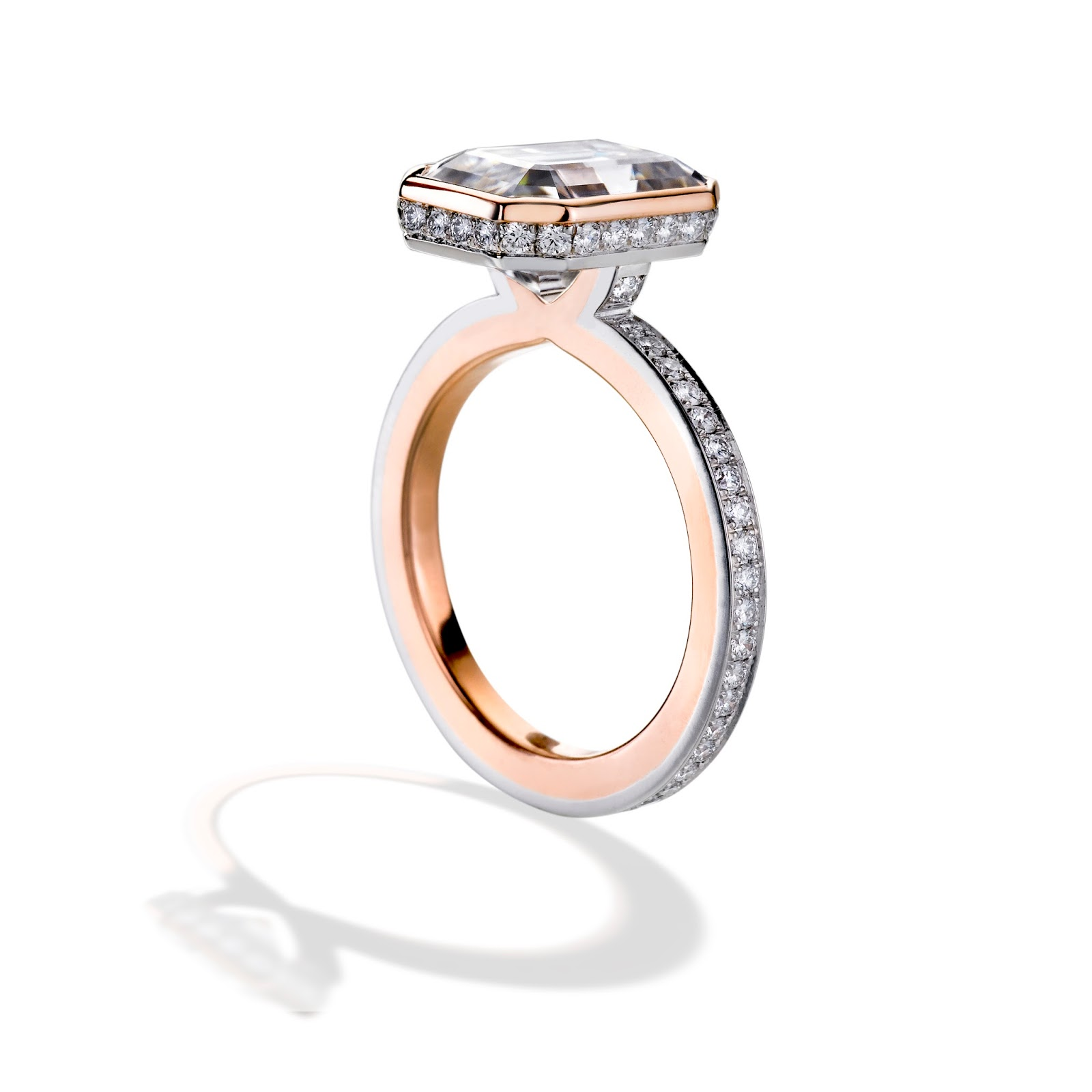 cut markpatterson diamond finished mark gold product engagement new cushion rings ring rose patterson arrivals