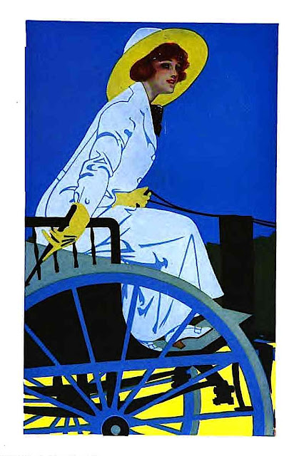 Coles Phillips, blue and yellow