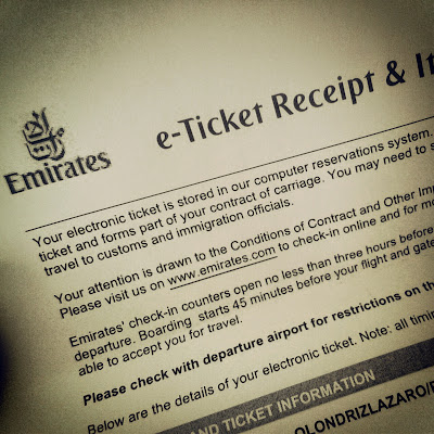 Emirates ticket