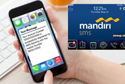 Cara Mendaftar SMS Banking Mandiri Lengkap Kode Transfer & Biyaya