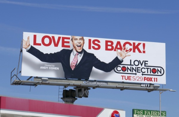 Love Connection season 2 billboard