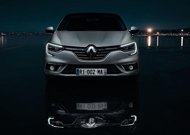 New Renault Megane Sedan 2017