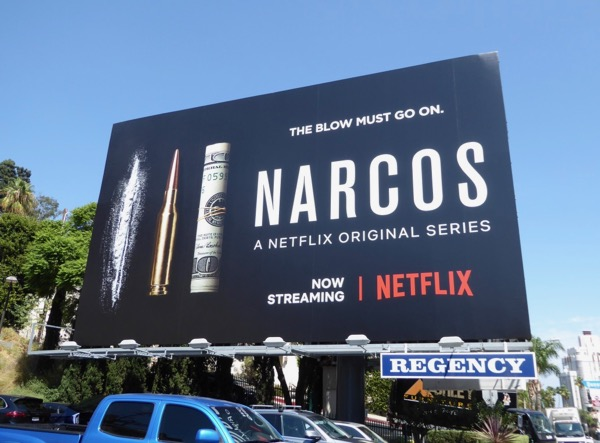 Narcos season 3 billboard
