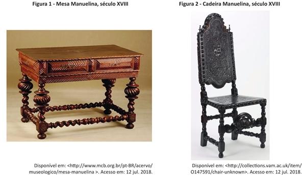 mesa manuelina século xviii cadeira manielina século xviii