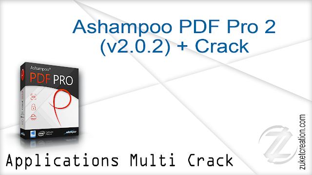 Ashampoo PDF Pro 2 (v2.0.2) + Crack
