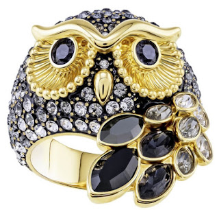 This week I'm obsessed with... Swarovski March Owl Motif Ring!