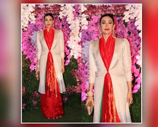 Karishma Kapoor At Akash Ambani Shloka Mehta Reception