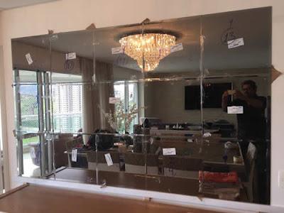 foto de espelho bronze no bairro de interlagos são paulo