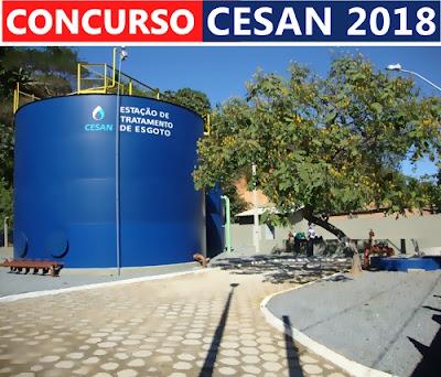 Apostila CESAN ES - Espírito Santense de Saneamento