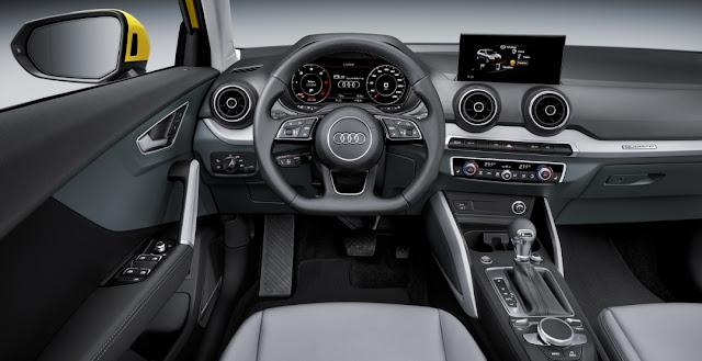 интерьер Audi Q2