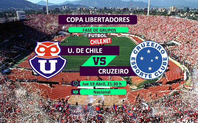 Universidad de Chile vs Cruzeiro: Previa, horario, dónde ver en vivo por TV y online por la Copa Libertadores 2018