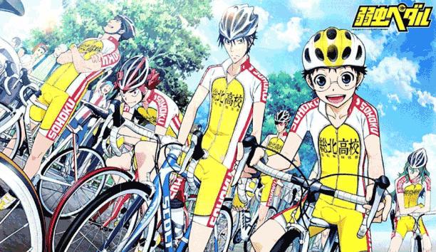 Yowamushi Pedal - Daftar Anime Sport terbaik Sepanjang Masa
