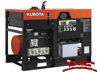 Máy phát điện Kubota 17.5kva J318