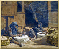 """The Two Women at the Mill"" -- by James Tissot"