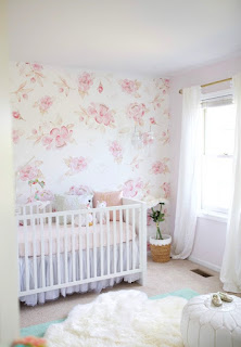 Easy Way To Make A Sweet Baby Girl's Bedroom