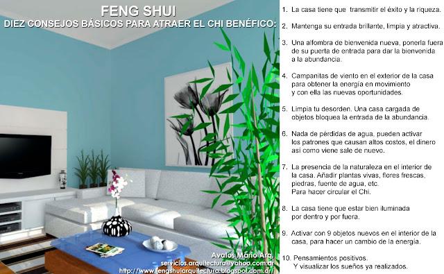 Colores for Consejos de feng shui para la casa