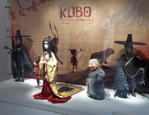 Kubo Two Strings stopmotion animation costume exhibit