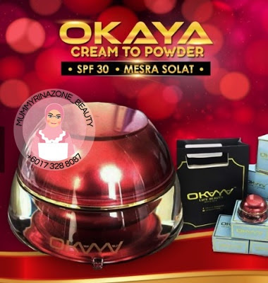 OKAYA CREAM TO POWDER FOUNDATION