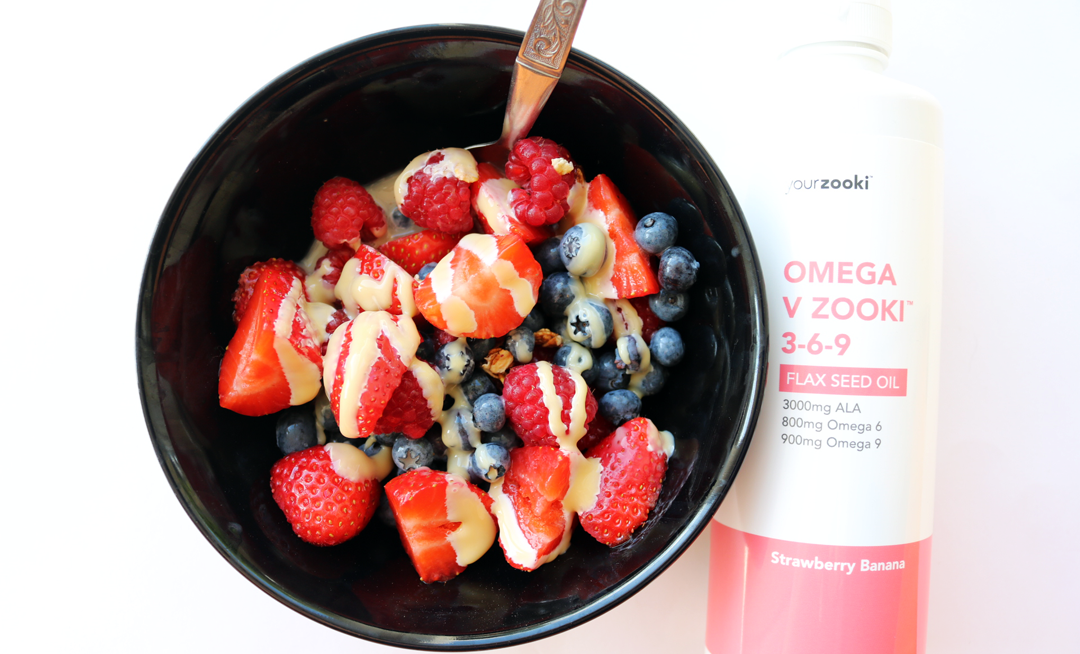 YourZooki Omega V Zooki 3-6-9 Strawberry Banana Supplement review