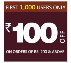 Enjoy Rs.100 Off on Rs.200 or above  at Pepperfry(For New Customers or Check your mail) Valid for First 1000 Customers or till 23rd Oct'13