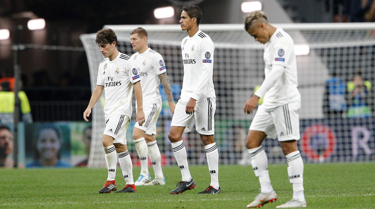 Real Madrid On Historic Goalless Run Champions League Loss To CSKA Moscow