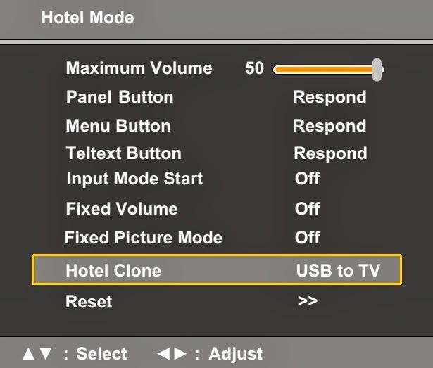 Electro help: SERVICE MODE - HOTEL MODE - TOSHIBA LCD TV/DVD