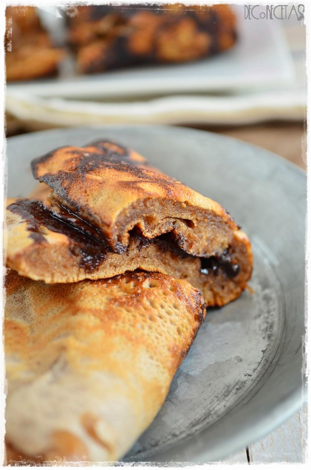 Tortilla con dulce
