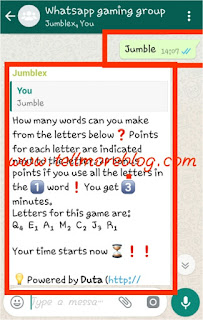 How to play games on whatsapp 2