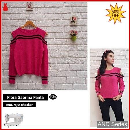 AND254 Baju Atasan Wanita Blouse Flora Sabrina BMGShop