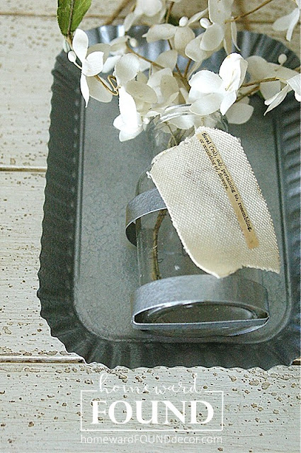 galvanized, paint treatments, krylon spray paint, hammered finish paint, painting, decor makeover, farmhouse, rustic, industrial, home decor, flower vase