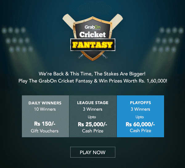 VIVO IPL 2016 Cricket Fantasy Contest Play & Win Upto Rs  1