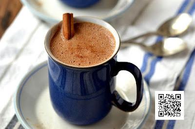 طريقة تحضير مشروب الشيكولاته الحار والحراق Chocolate drink