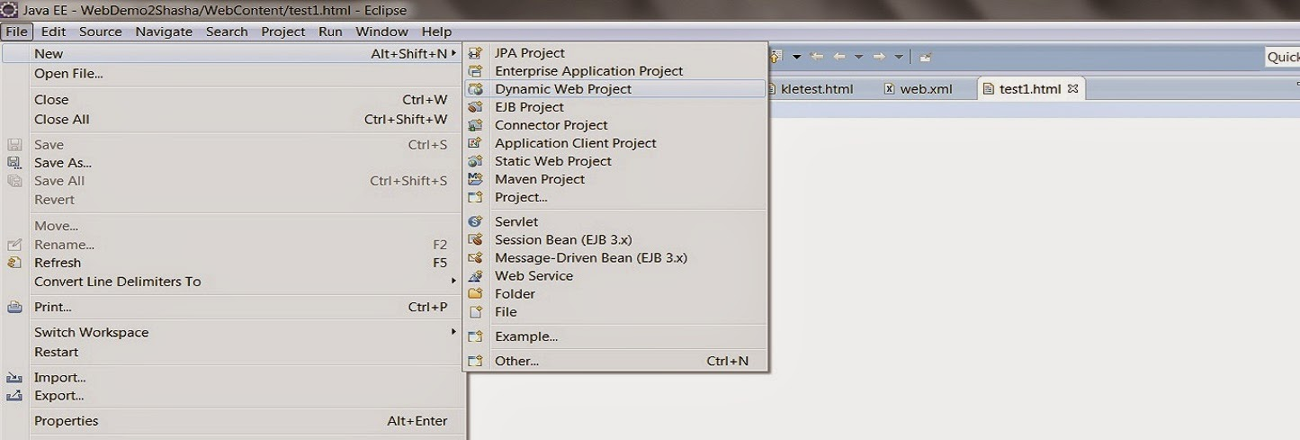 How to build a java web app using Eclipse | Bluemix Insights