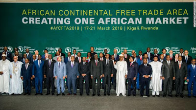 African Union Join Hands to Make Continet Free Trade Area