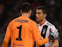 Szczesny Gagalkan Penalti Higuain Berkat Bisikan Ronaldo