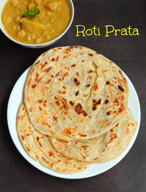 Roti Prata - Singaporean Flat Bread