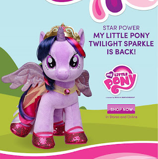 Twilight Sparkle Back in Stock at Build-a-Bear