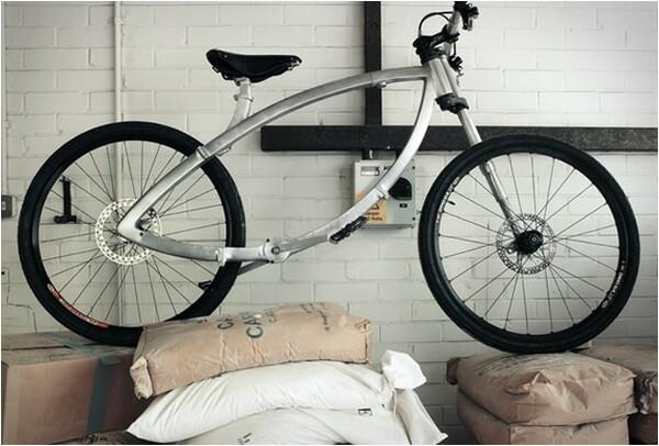ultra-compact folding bike