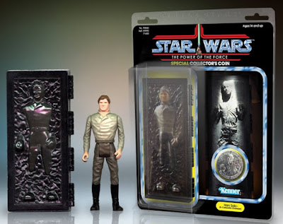 "Premier Guild Exclusive Han Solo in Carbonite 12"" Jumbo Vintage Kenner Star Wars Action Figure by Gentle Giant"