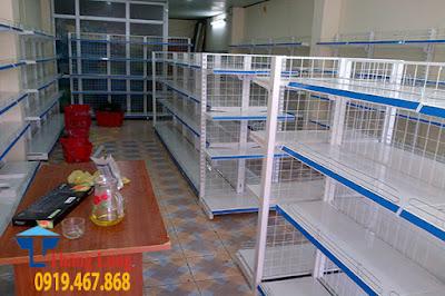 Cung cấp và lắp đặt hoàn chỉnh kệ siêu thị tại Mai Châu Hòa Bình