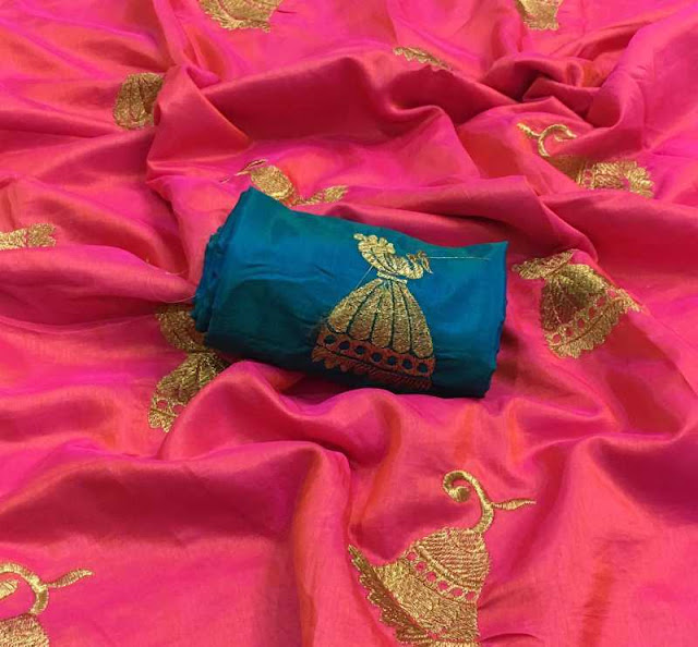 Sana Silk Jhumki Sari