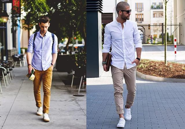Look Masculino com Tênis Branco (2)