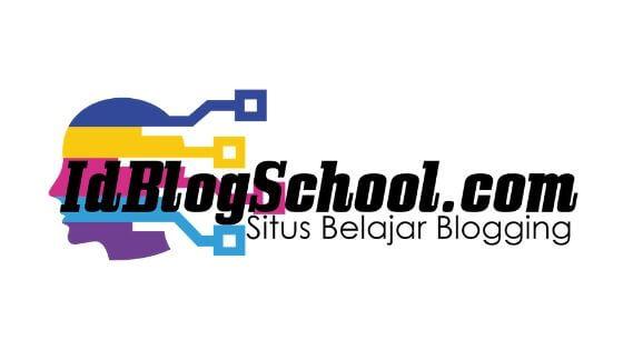 contoh logo idblogschool.com