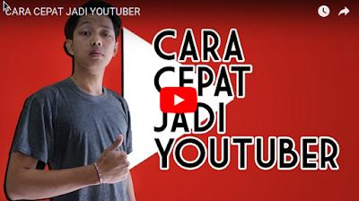 CARA CEPAT JADI YOUTUBER BY BAYU SKAK