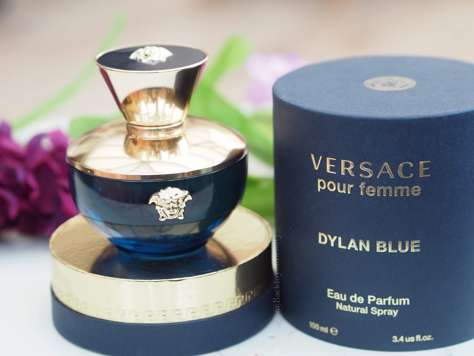 Versace Por Femme Dylan Blue, the ultimate gift of luxury fragrance